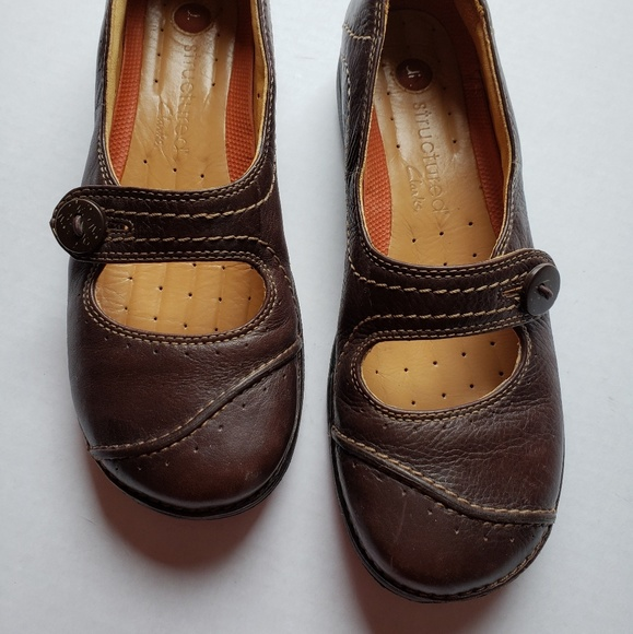 Clarks Unstructured Mary Jane Shoes 7